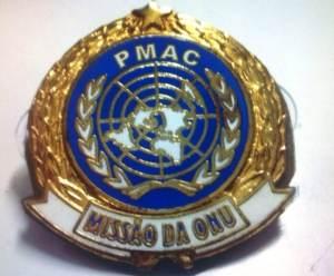 PMAC - Distintivo Missão de Paz